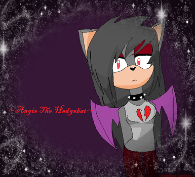 ME,ANGIE THE HEDGEBAT .edited. by ShadowFanGirl331