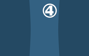 Marvels Reed Richards Minimalist Wallpaper by NightLightArt