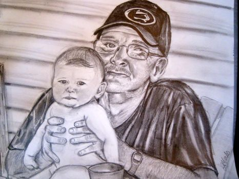 father and grandchild by jmarks0257