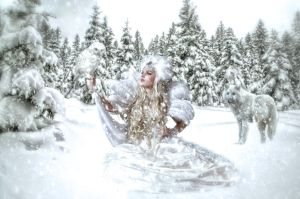 Winter White by ditney