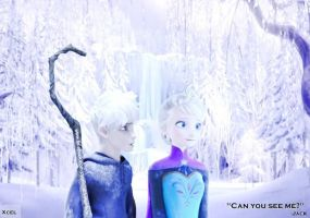 Jack and Elsa on a Winter Date by plutoniansh0re