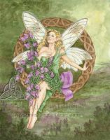 Celtic Heather Fairy by mickiemueller