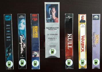 V/H/S Bookmarks - Series 7 by RecycledHorrors
