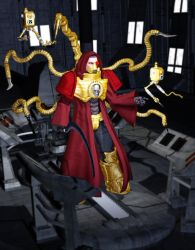 Tech Priest by MADMANMIKE