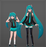 Mini Miku by V--R