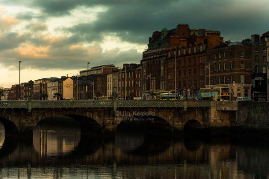 Dublin Sunset 2 by ukapala