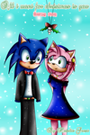 All i want for christmas is you SonAmy comic by NatalieGuest