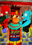 Mixtec Clyde (2018) by Africa2000