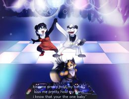 Party Rock With The Funky Panda by zahnholley