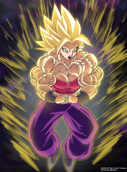 She has gone BEYOND super saiyan!! (NO-FX Ver) by MGChaser
