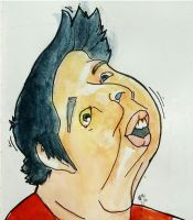 Markiplier caricature by Bohomouse
