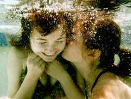 underwater love by Kristin-Skye