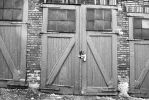 Black and White Doors by MillyT