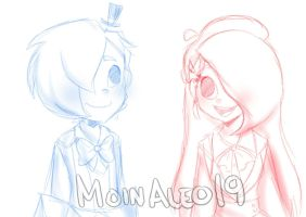 || Mateo The Magician and Leo The Artist by JuneArtCraft19