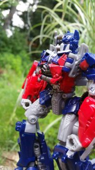 Optimus Prime by transformers--wolves