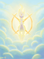 arceus by blubified