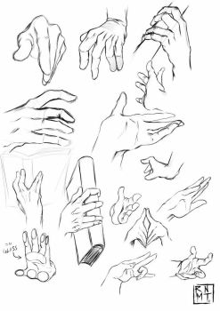 Doodle hand by rnmt