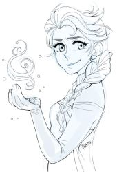 Elsa - sketch by Prettio