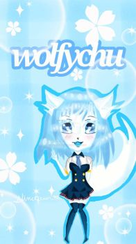 fanart for wolfychu by slimequeen988