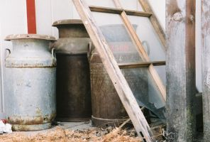 Milk Cans by isaacsflower