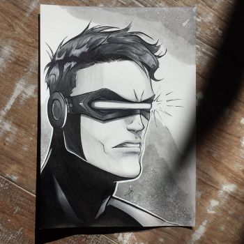 Cyclops - commission by mariananaca