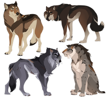 Scions of Beringia - Characters by DioMEMEdes