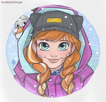 Anna: Let it snow by fra-gai
