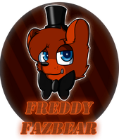 Freddy Fazbear|Photoshop by SoundwavePie