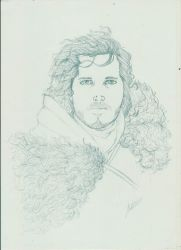 Jon Snow by astrun