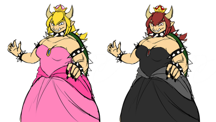 Big-Body Bowsette (BBB) by ChikkiArts