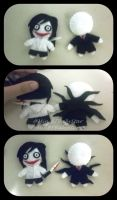 Slenderman and Jeff The Killer Plushies by MinBFBabyStar