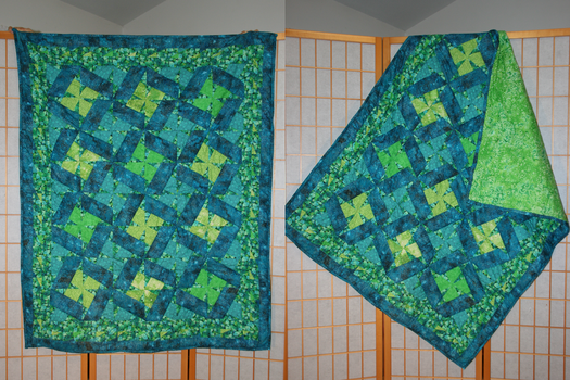 Lily Pads Quilt by Ravenwings08