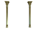tall wall columns stock png by madetobeunique