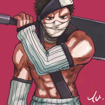 Zabuza Momochi by Harry-Yu