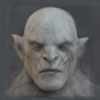 Face of Azog by Sousafighter