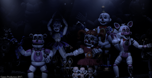 The Final Show - FNAF SL Wallpaper. by GamesProduction