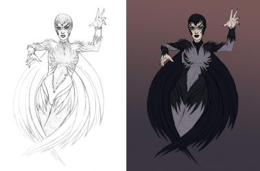 Raven Redesign by MattSimas