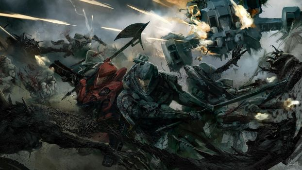 Edge of Tomorrow: Pitch Art 1  (2010) by ukitakumuki