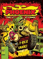 T-REX in a TANK! by STUDIOBLINKTWICE