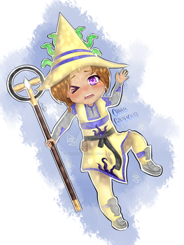 Wizard101 Charles GoldenCaller by SpirallingDreams
