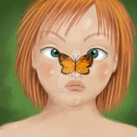 The butterflie girl by Kalliope69