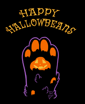 Happy Hallowbeans by artwork-tee