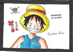 .:Luffy:. by Angie-Crystal-Star