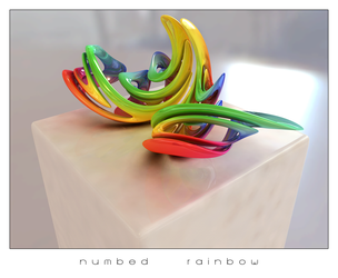 numbed rainbow by kfx