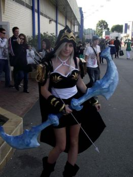 Ashe, league of legends by AstroKerrie