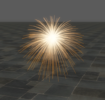 Sparks for XNALara/XPS by dasliebesverbot