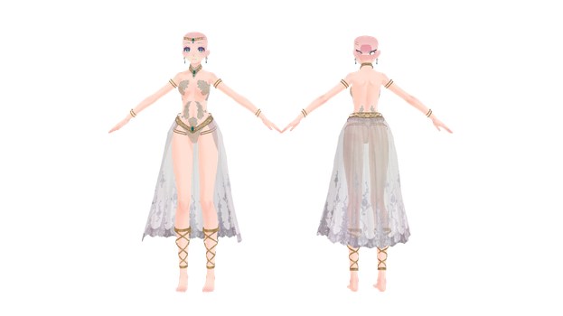 {MMD} - TDA Showstopper Outfit Base (+DL Link) by thietanavenus