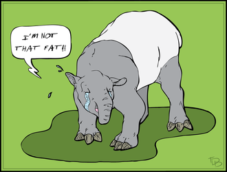 Don't Call Me An Elephant (Colored) by TDDog
