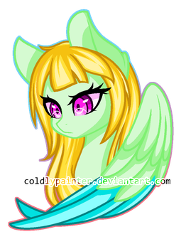 Art trade:Anika by Coldly-Painter