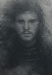 Snowing Jon by Artgerm